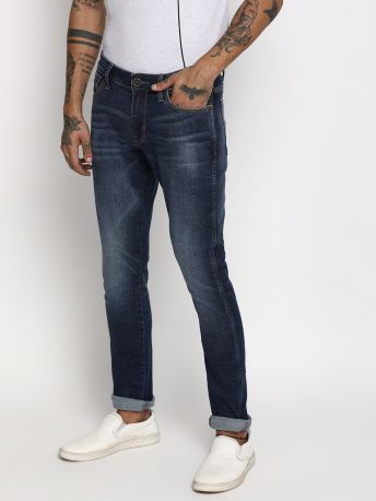 Frost - B Solid Skinny Grey Jeans